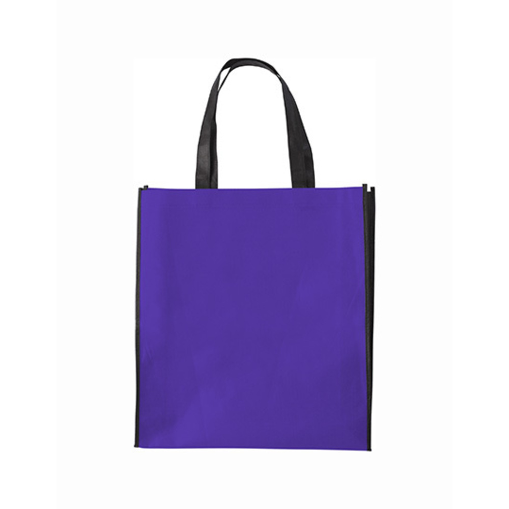 Shopping Bag Zürich, 38 x 42 x 10, Purple