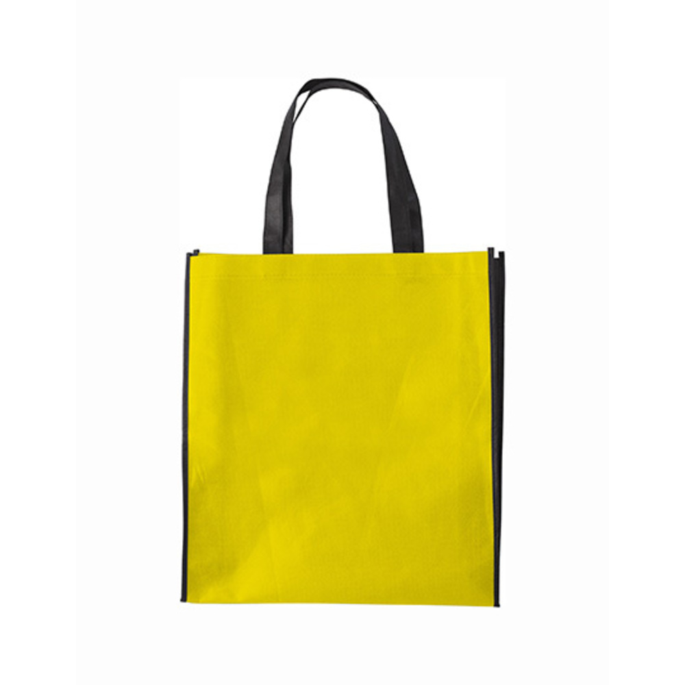 Shopping Bag Zürich, 38 x 42 x 10, Yellow
