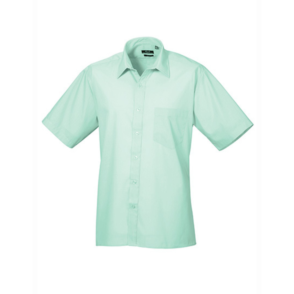 Poplin Short Sleeve Shirt (Herrenhemd/Kurzarm)