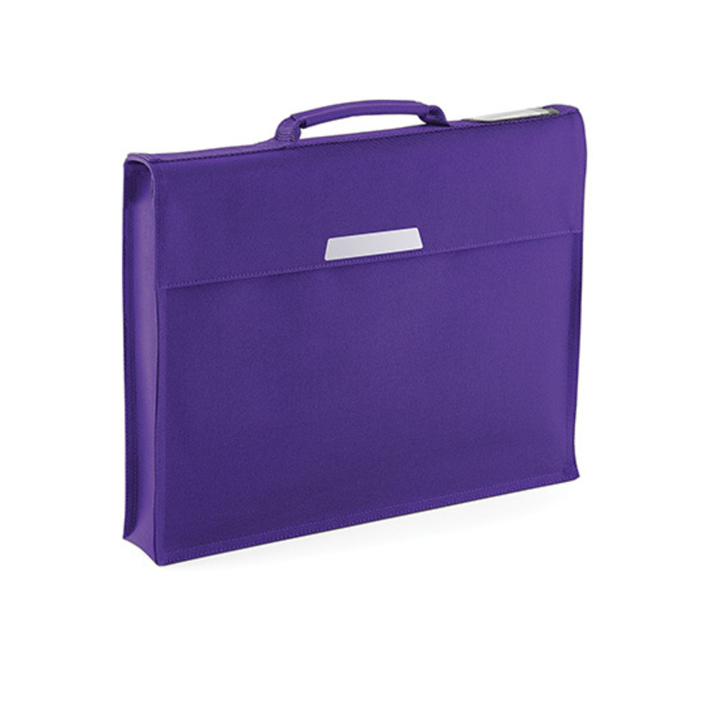 Academy Book Bag, 36 x 30 x 6, Purple