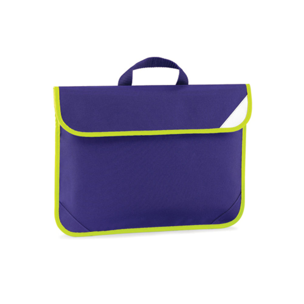 Enhanced-Viz Book Bag, 38 x 28, Purple