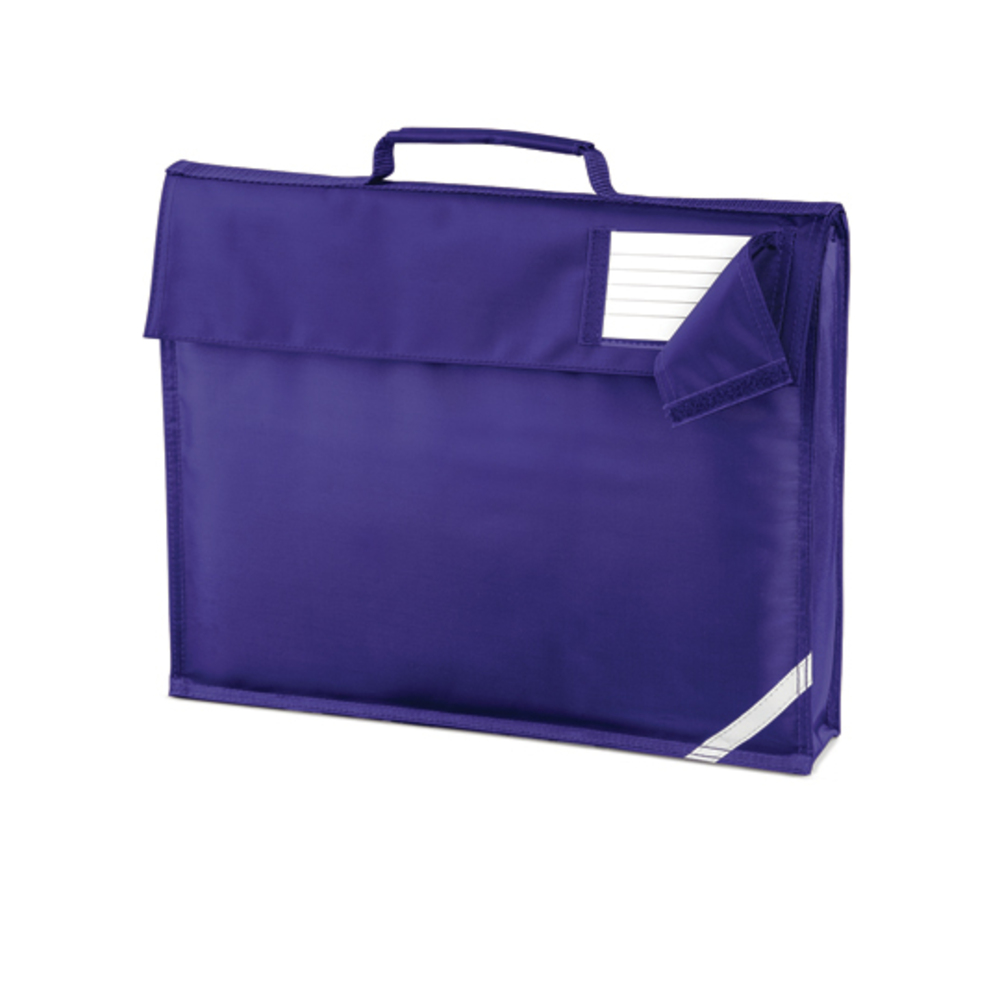 Junior Book Bag, 37 x 30 x 6, Purple