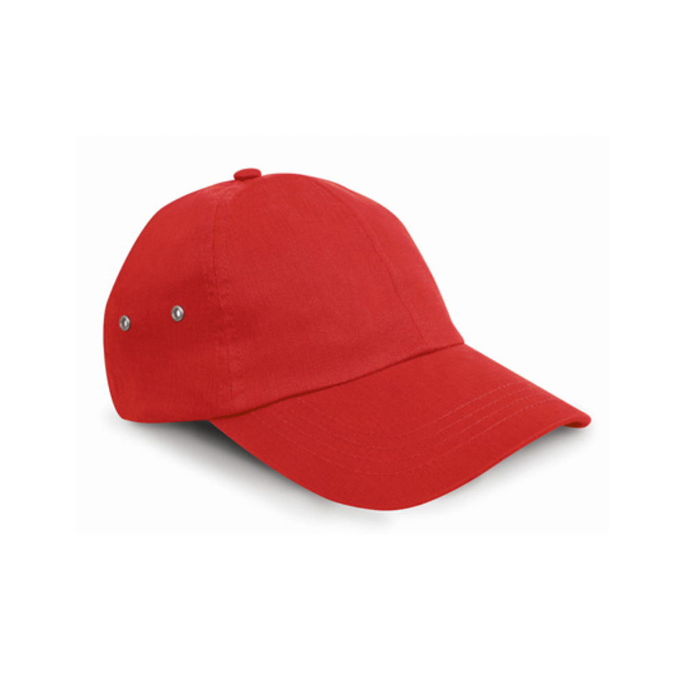 Plush Cap, Wide, Red