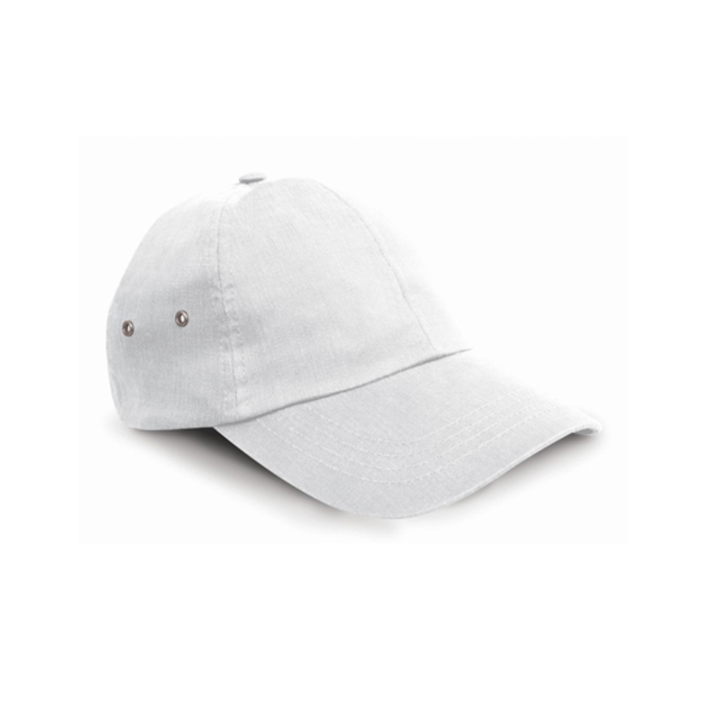 Plush Cap, Wide, White