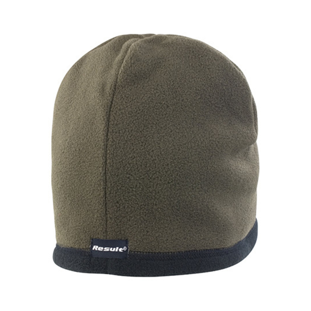 Reversible Microfleece Bob Hat