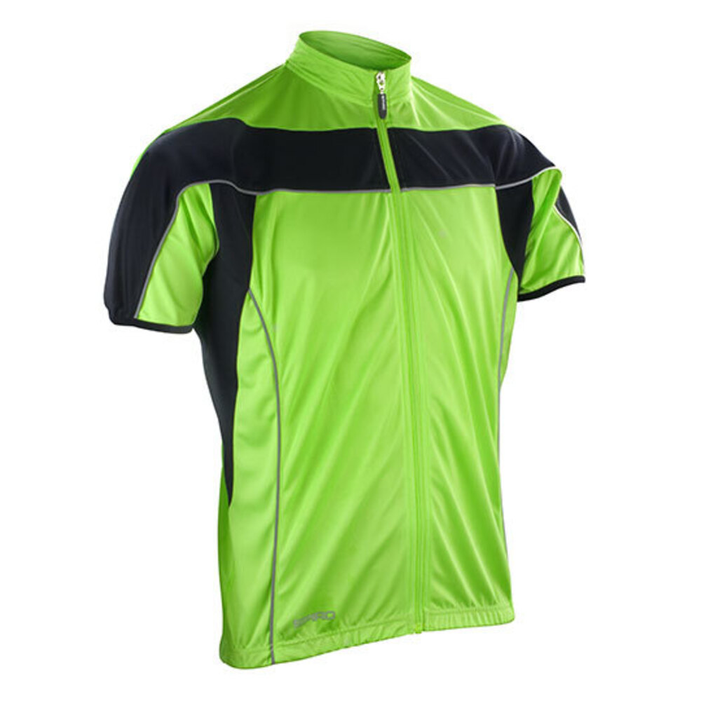 Mens Bikewear Full Zip Performance Top