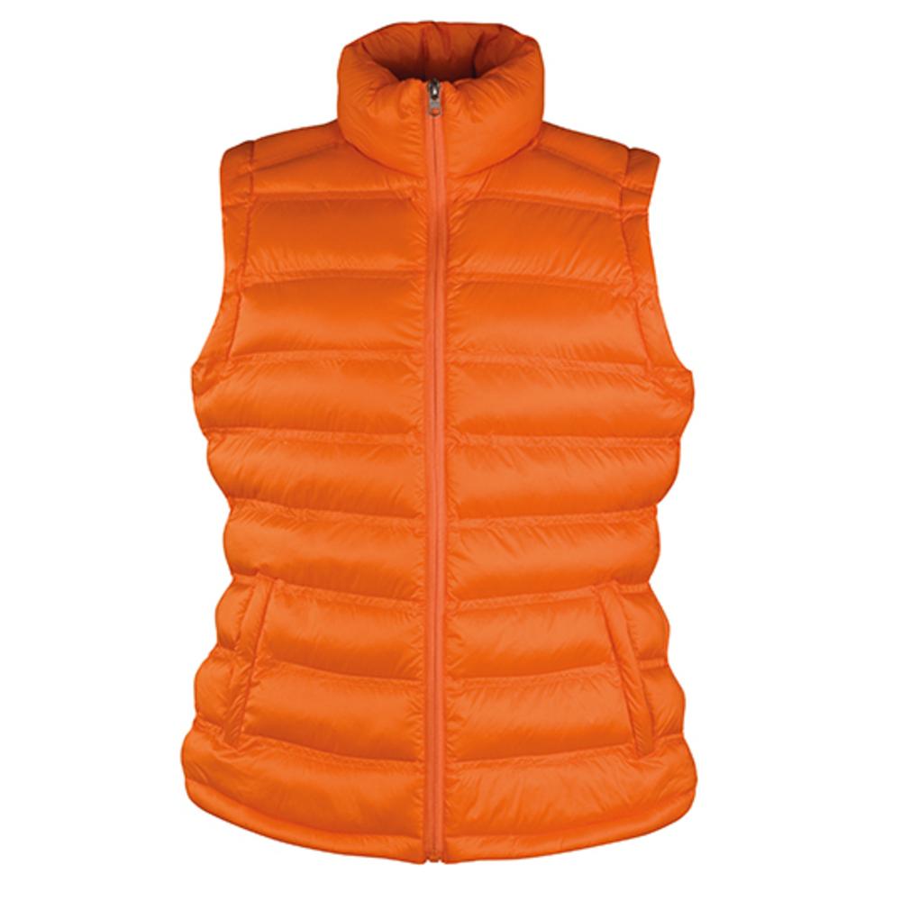Ladies Ice Bird Padded Gilet XL Orange