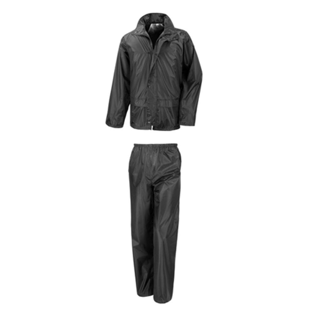 Rain Suit XXL Black