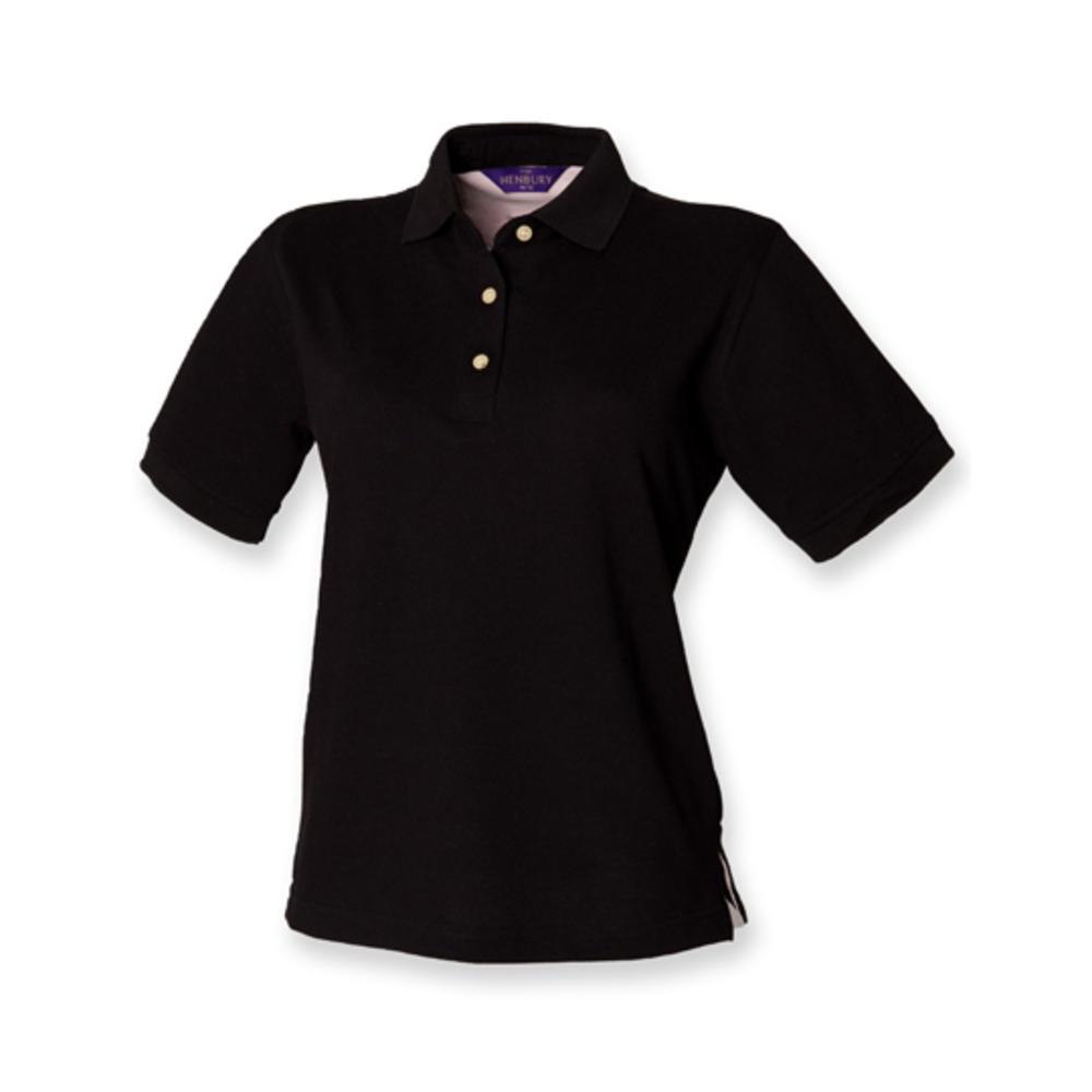 Polo en coton piqué classique pour dames
