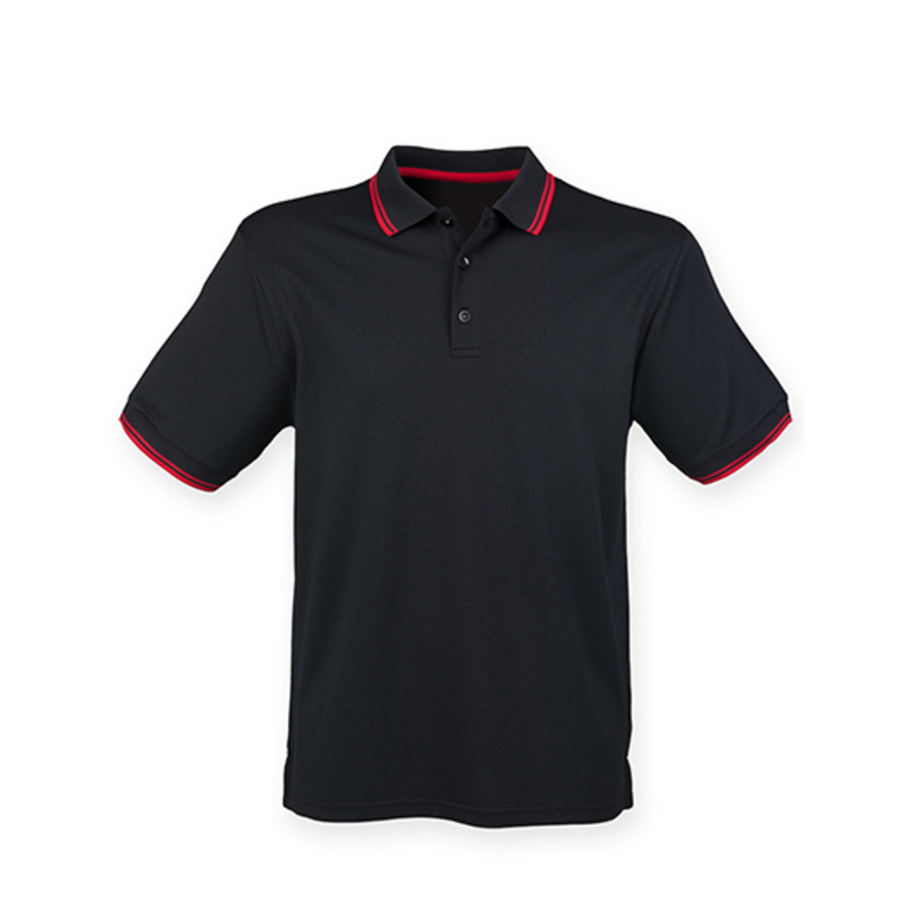 Men's Coolplus® Short Sleeved Tipped