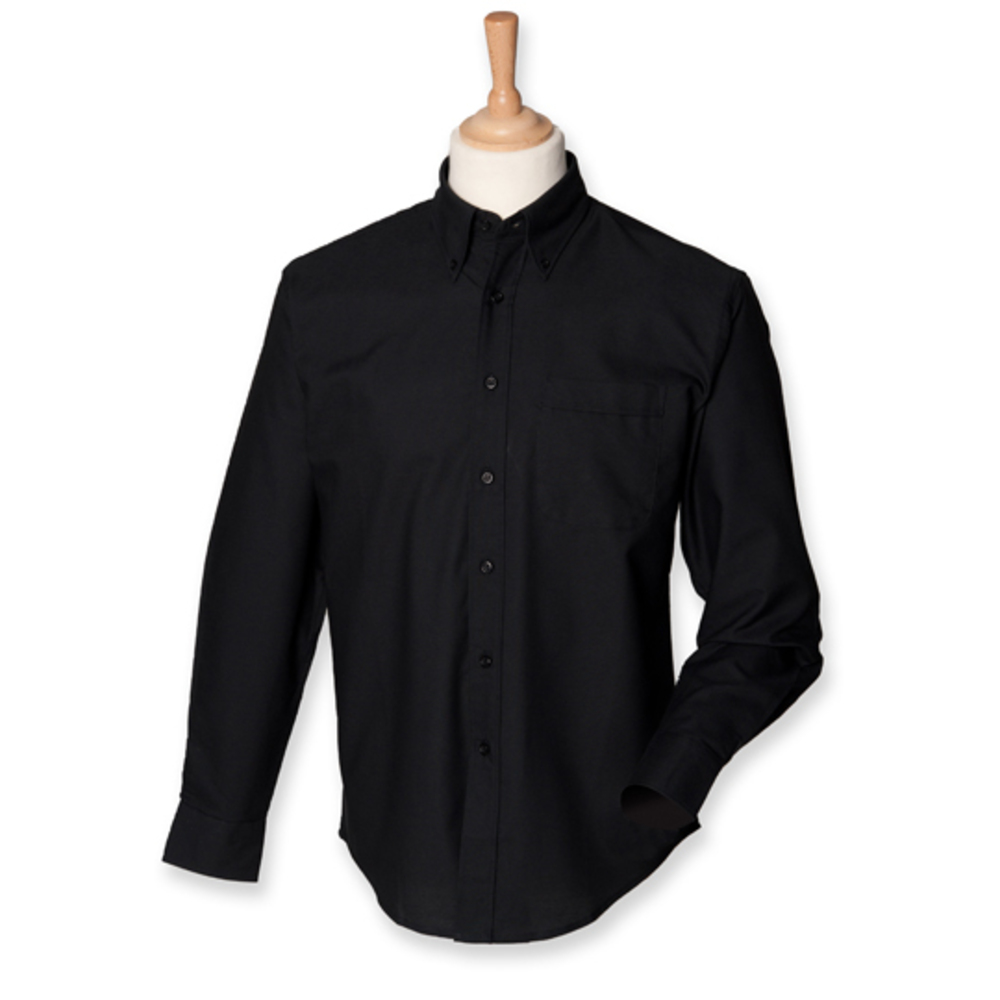 Men`s Classic Long Sleeved Oxford Shirt