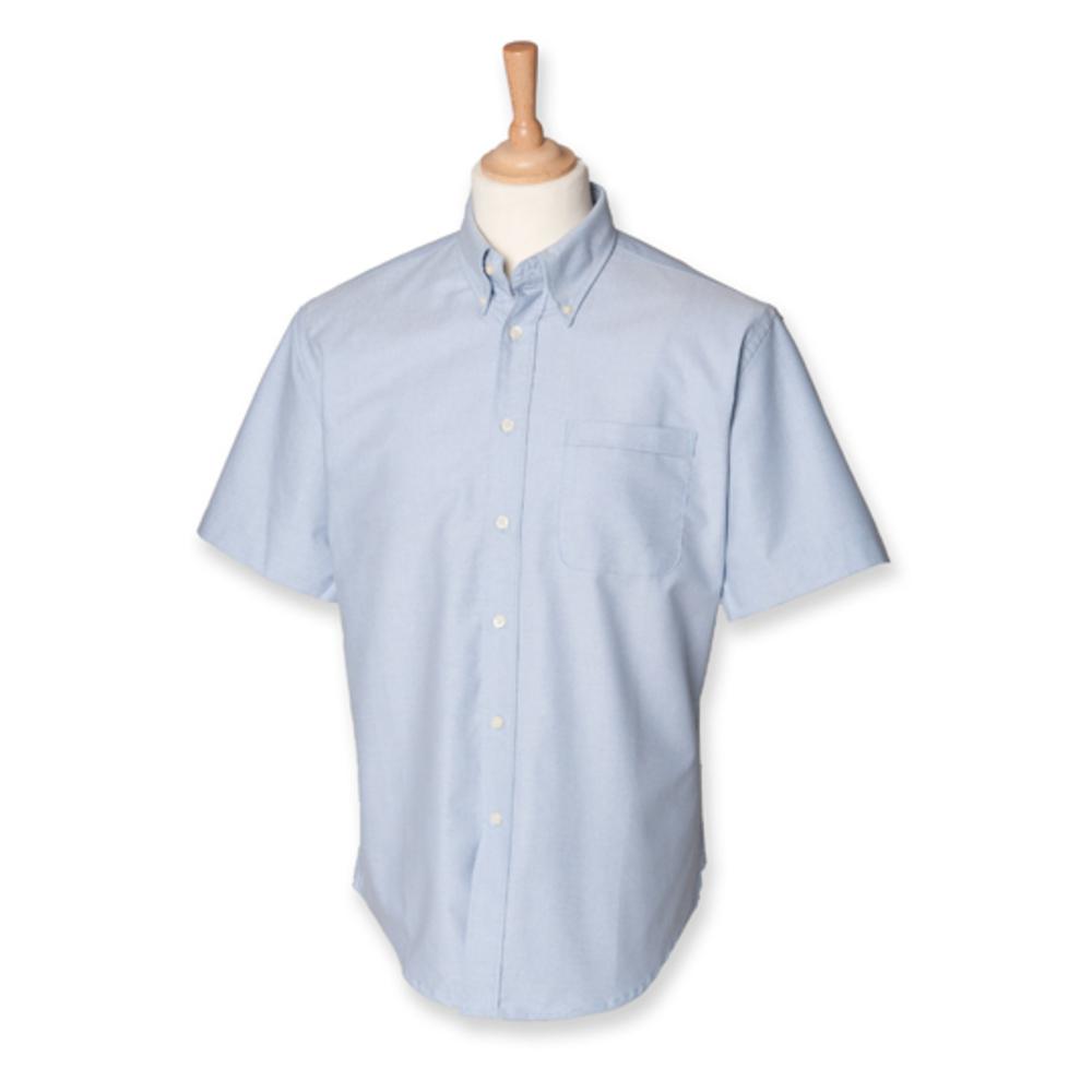 Men`s Classic Short Sleeved Oxford Shirt