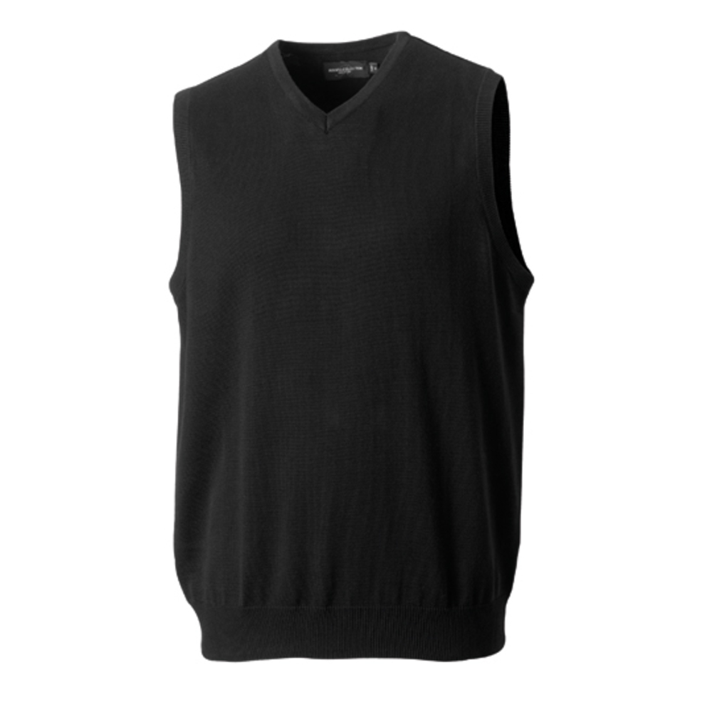 Men´s V-Neck Sleeveless Knitted Jumper