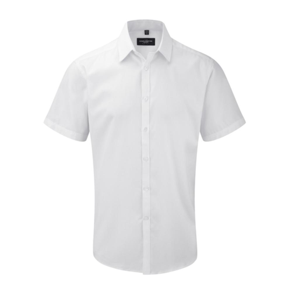 Men´s Short Sleeve Herringbone Shirt