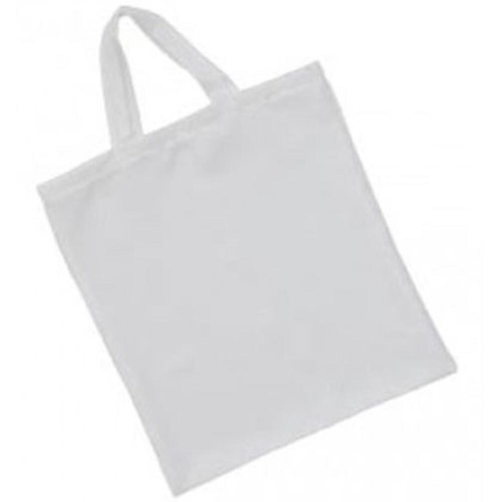 Subli Tragetasche mit kurzem Henkel Weiß 38 x 42 cm