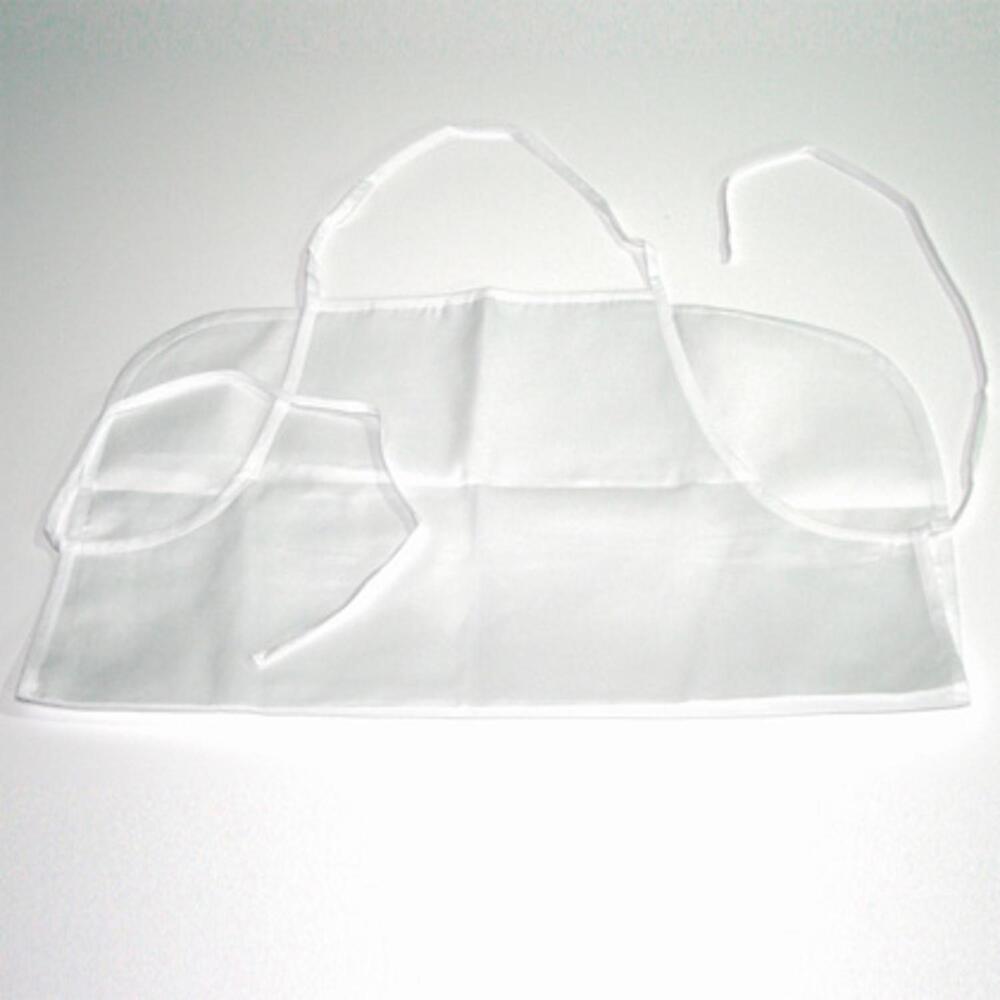 Subli Grillschürze Weiß 75 x 58 cm