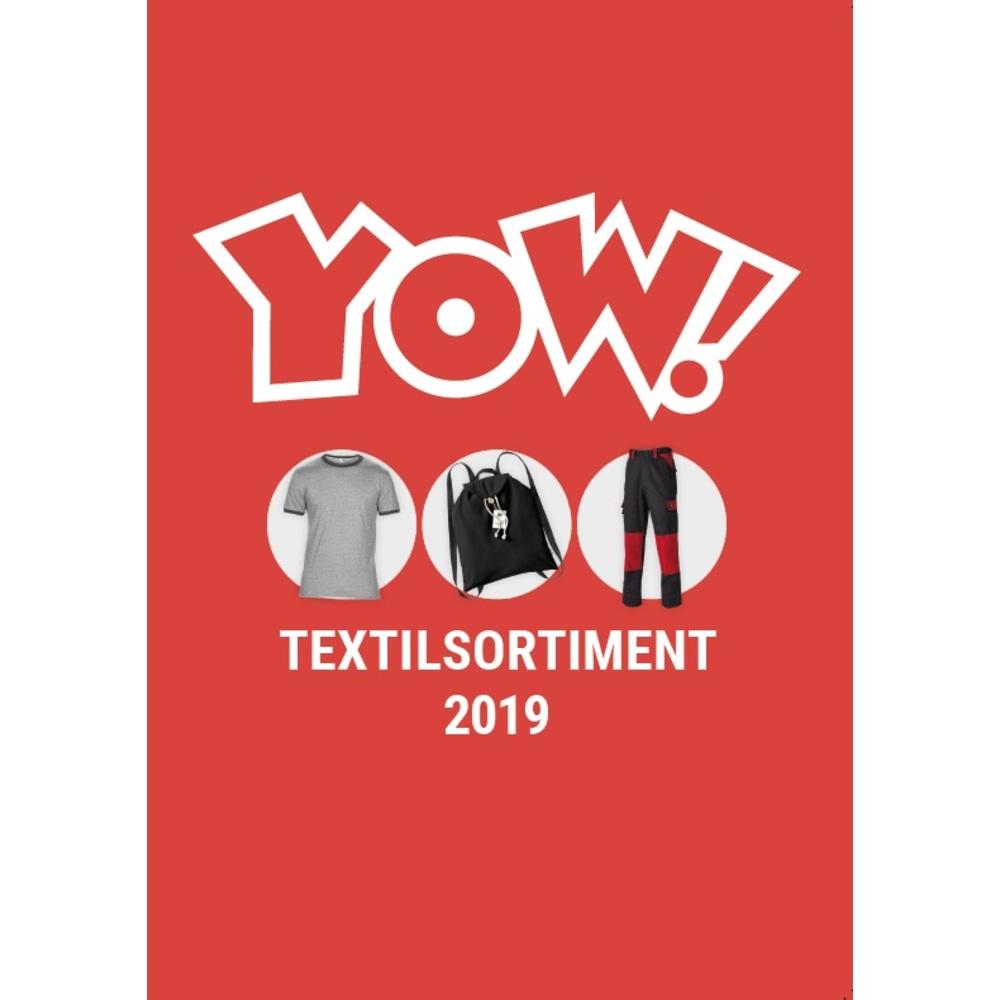 Katalog YOW! Textilsortiment 2019