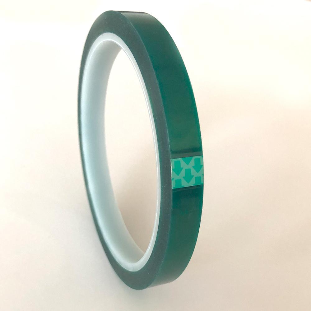 Ruban thermique transparent vert - 10mmx33m