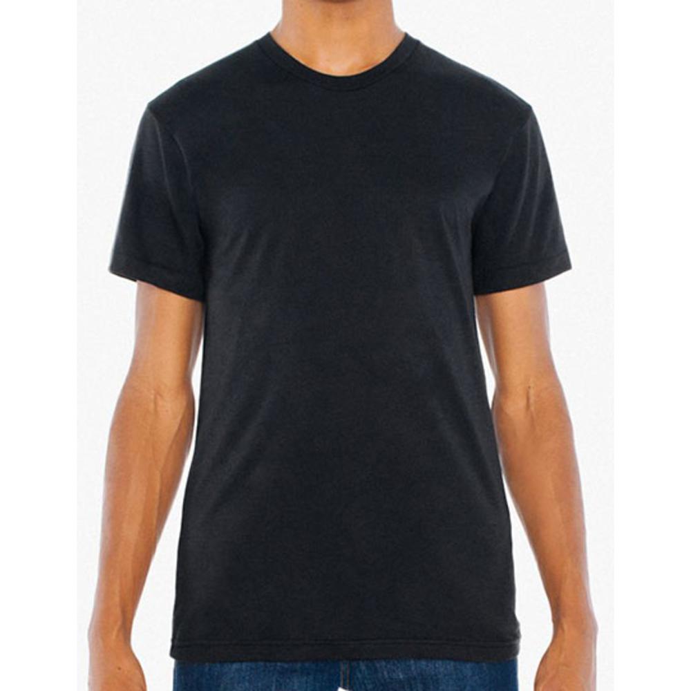 Unisex Poly-Cotton Short Sleeve Crew Neck T-Shirt