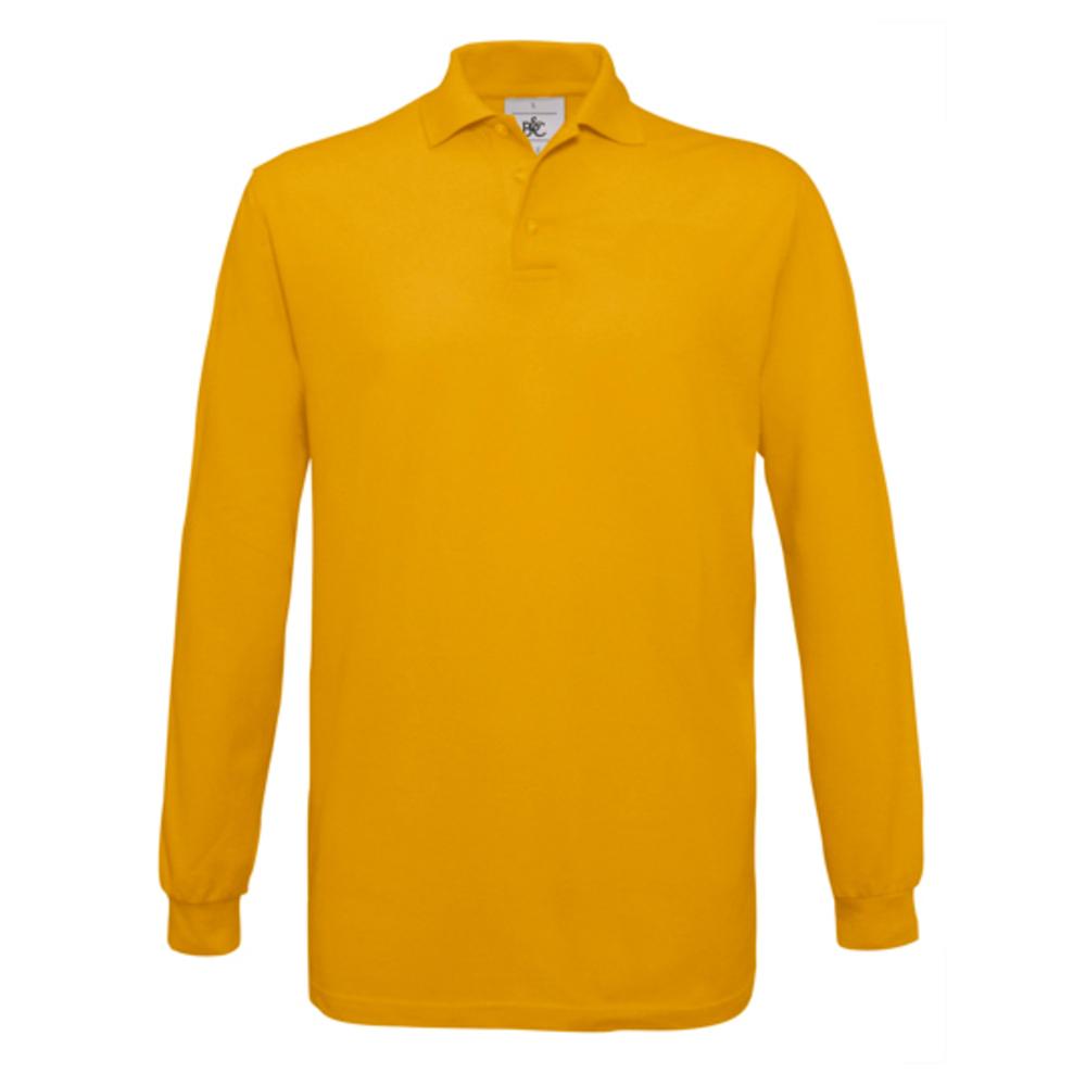 Polo saffron longsleeve / unisex