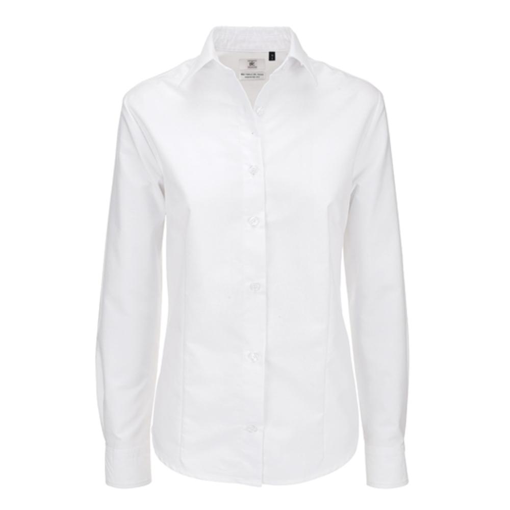 Oxford camicia manica lunga camicia lungo / Donna