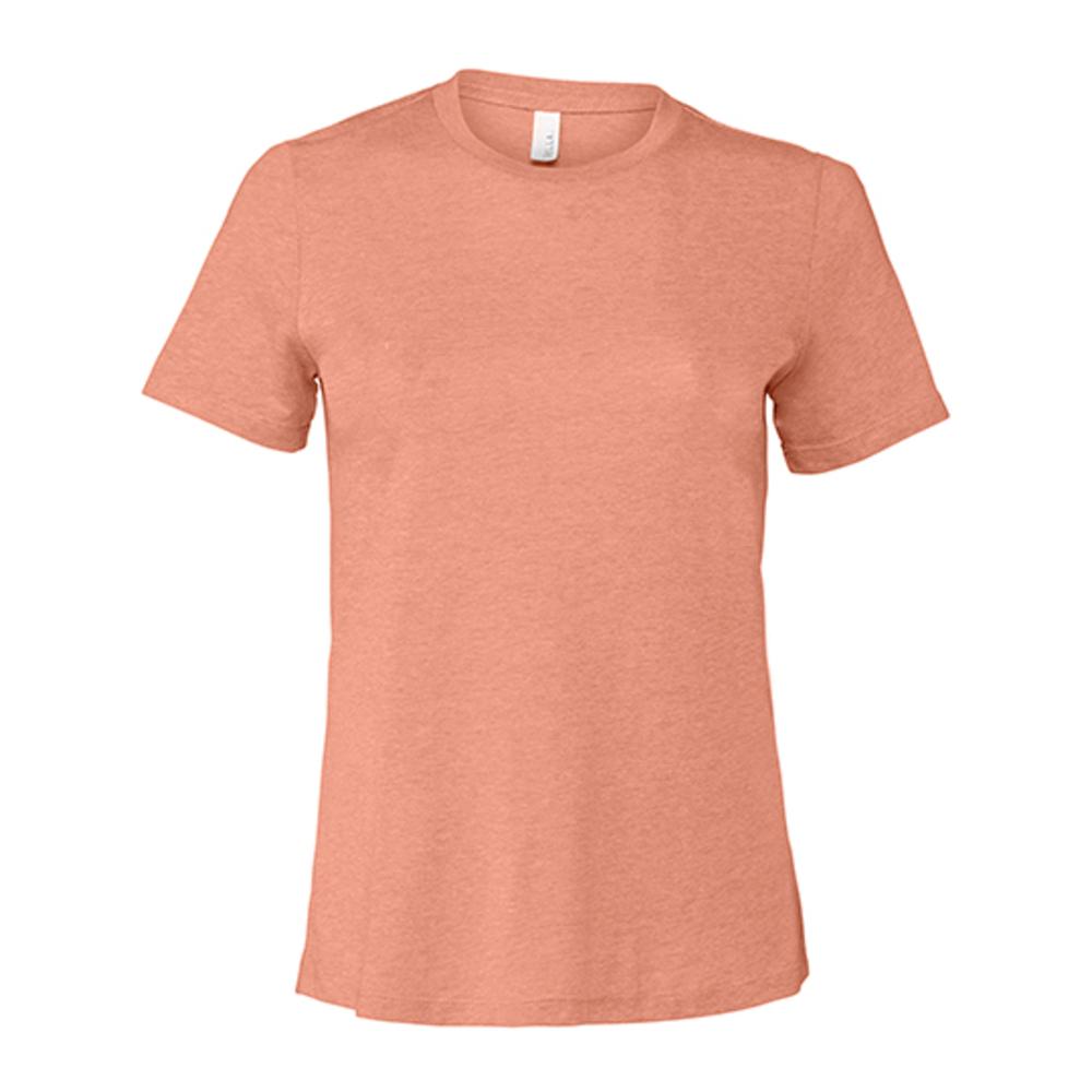 Camiseta de manga corta de jersey relajado para mujer