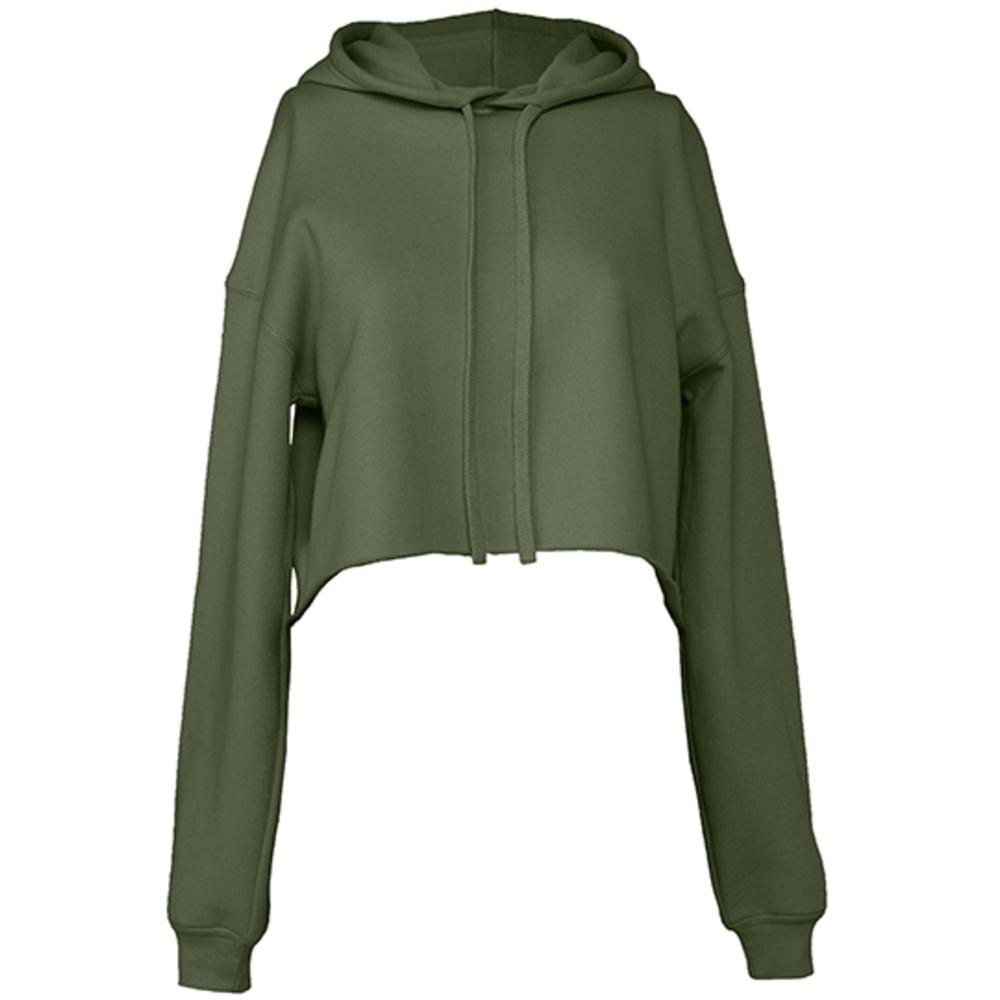 Women´s Cropped Fleece Hoodie