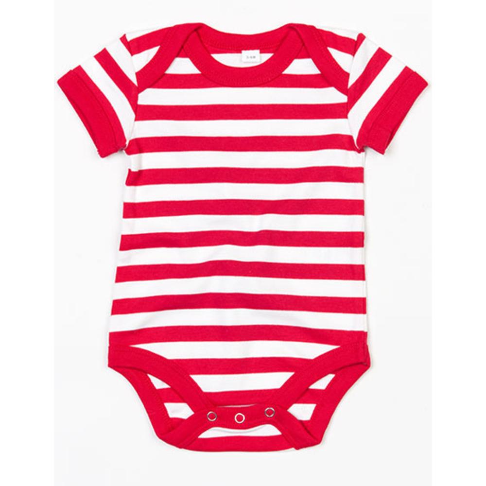 Chaleco corporal de rayas para bebé