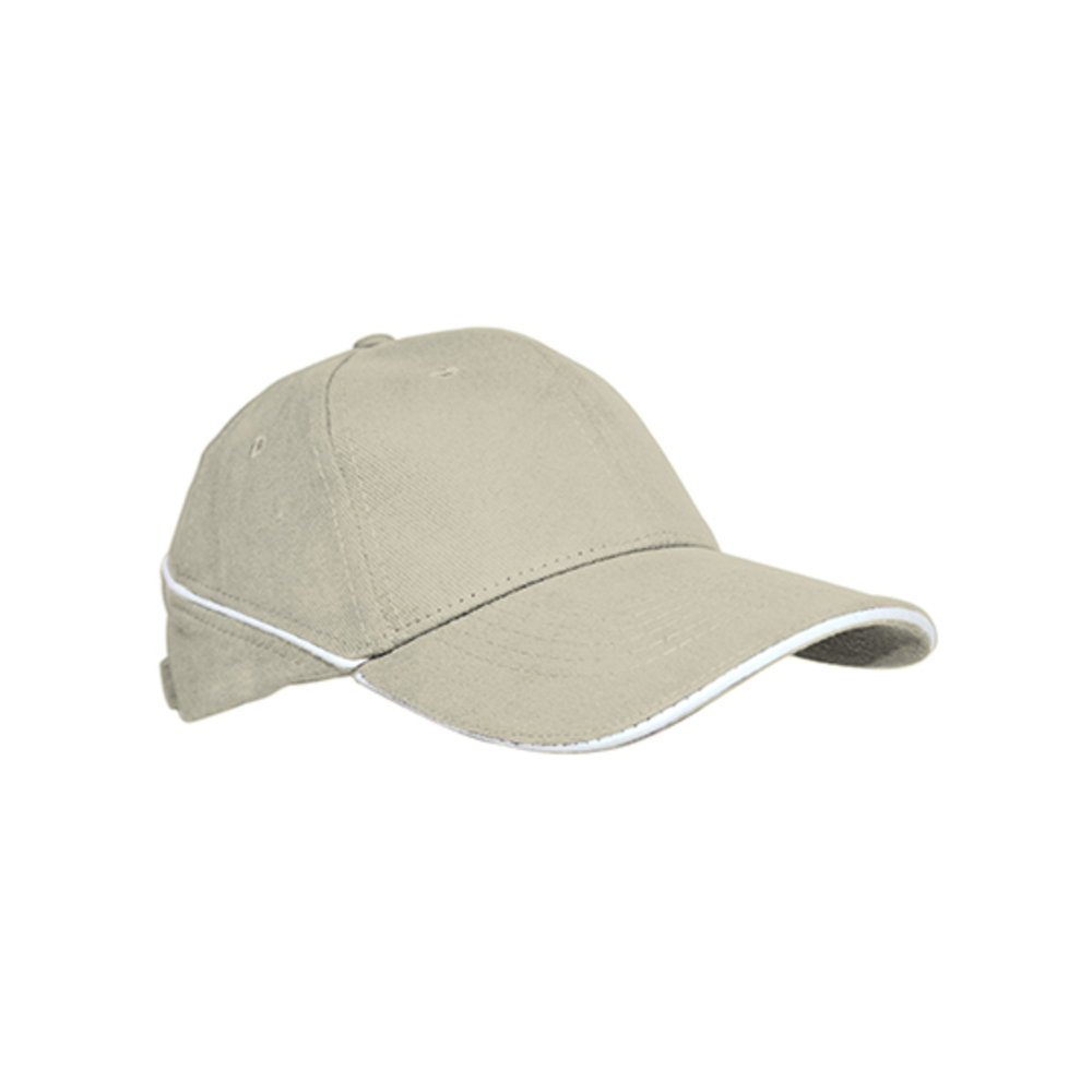 White stripe cap