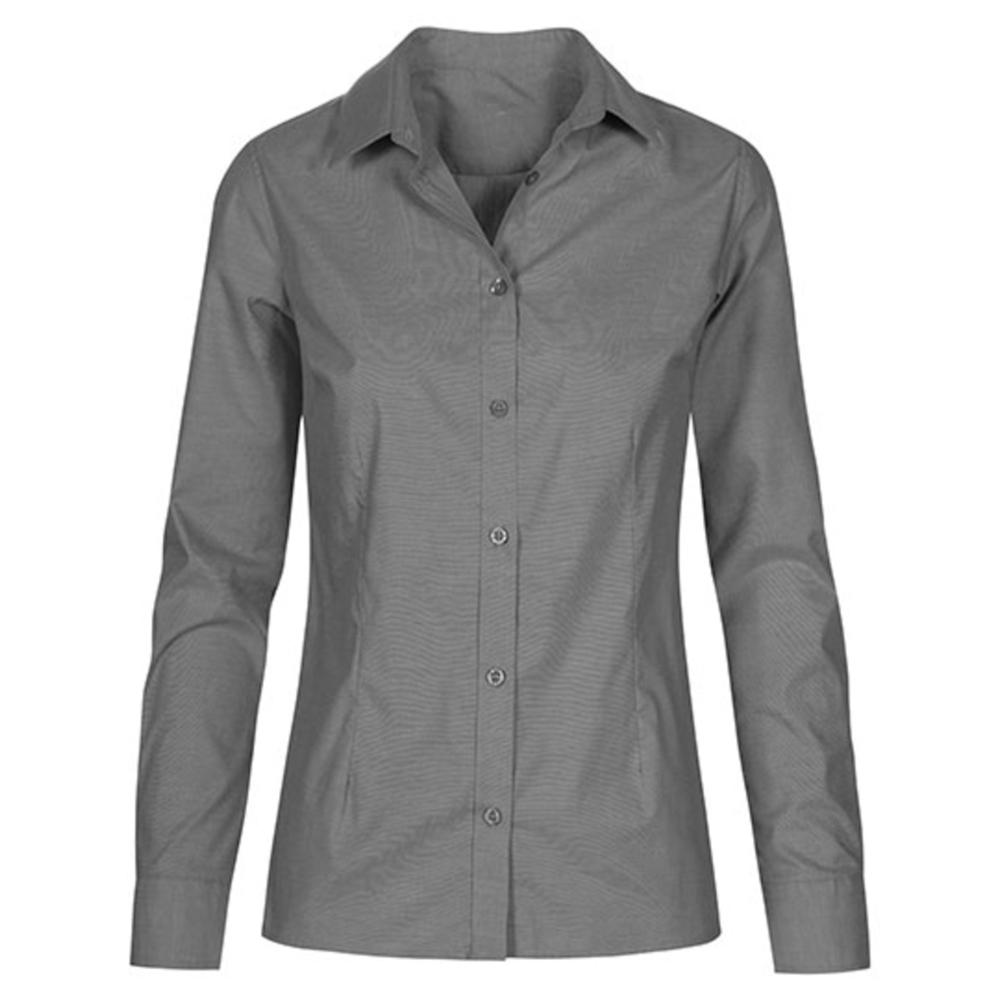 Camicia Oxford da donna a manica lunga
