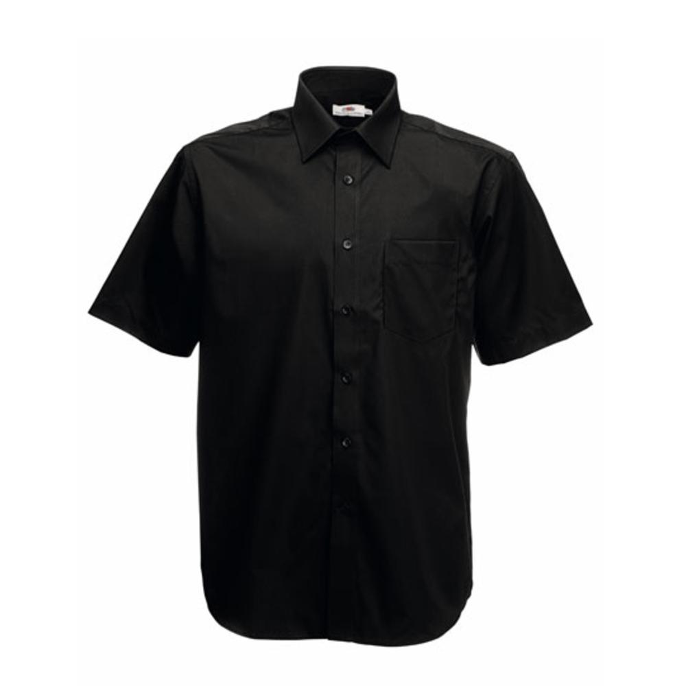 Men`s Short Sleeve Poplin Shirt