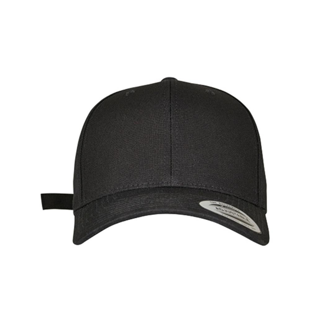 6-Panel Curved Metal Snap Cap