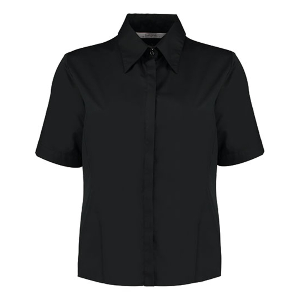 Women`s Tailored Fit Bar Shirt Short Sleeve