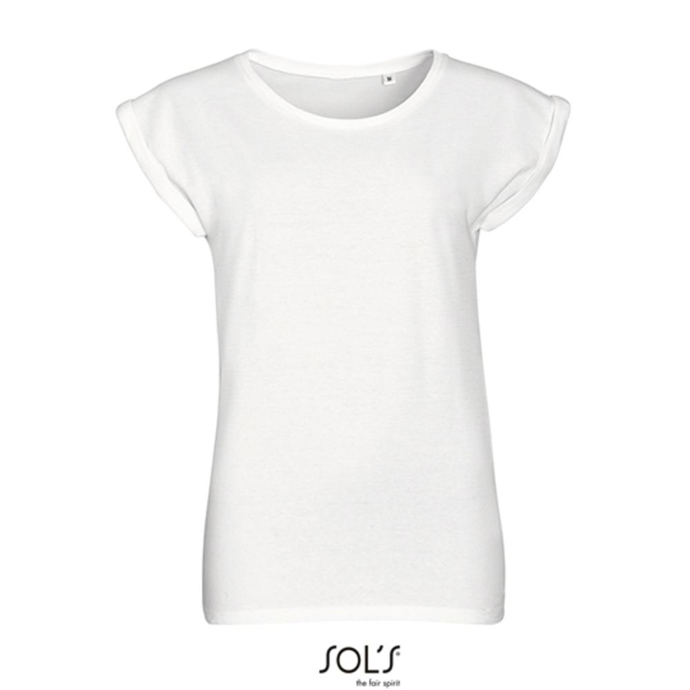 T-shirt girocollo donna Mela Melba