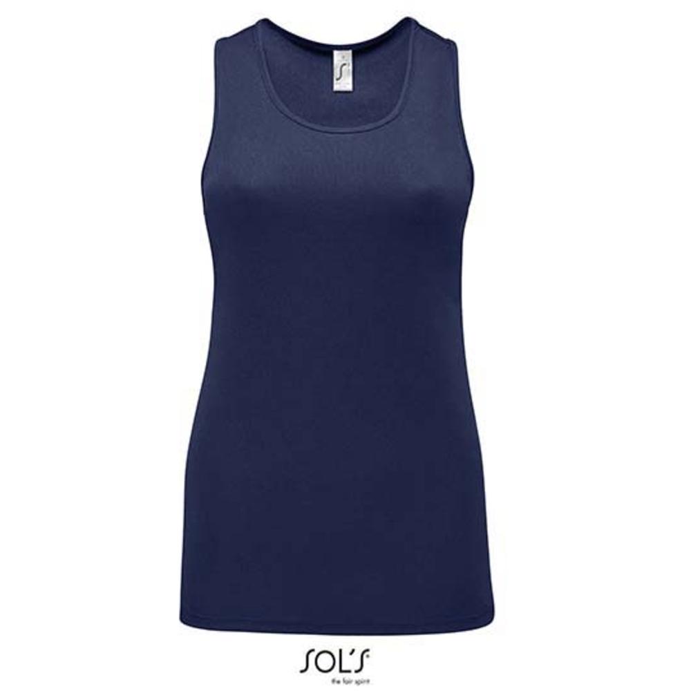 Camiseta deportiva sin mangas para mujer Sporty