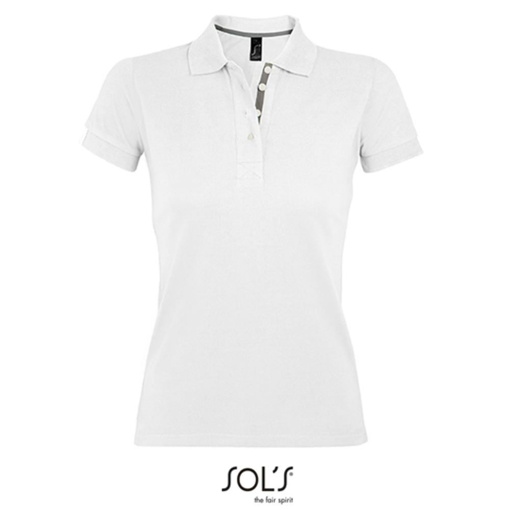 Camiseta Polo Mujer Portland