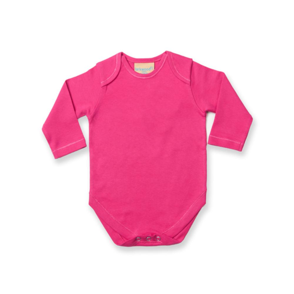Body de manga larga para bebé