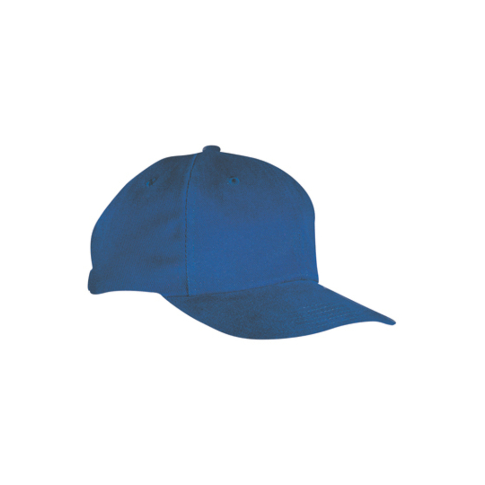 6-Panel cap closely fitted to the forehead