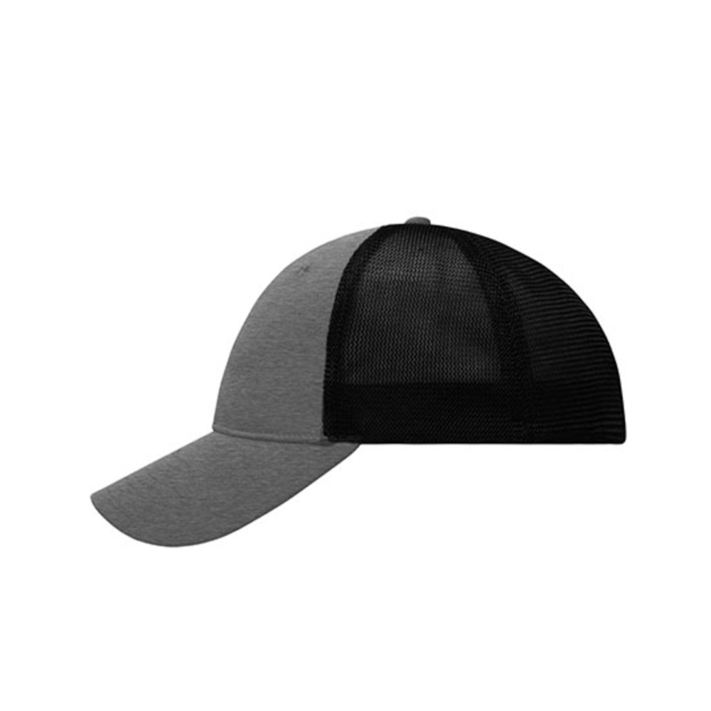 Gorra de malla con ajuste elástico de 6 paneles