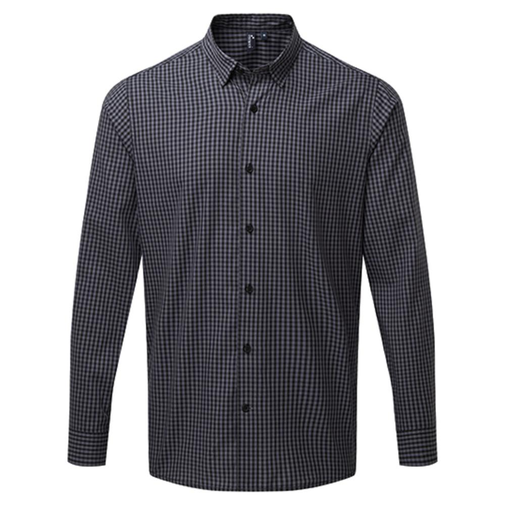Maxton Check Mens Long Sleeve Shirt