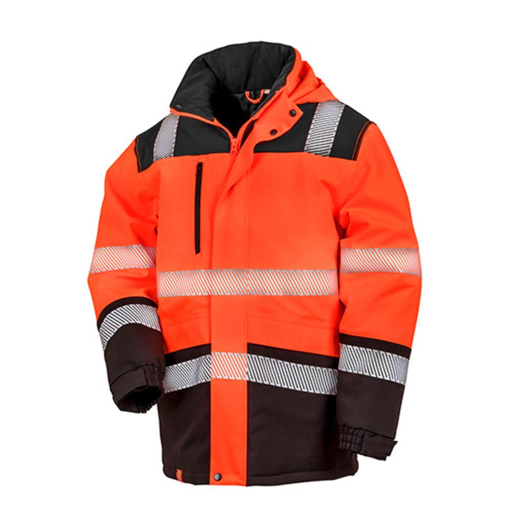 Cappotto di sicurezza Softshell impermeabile stampabile