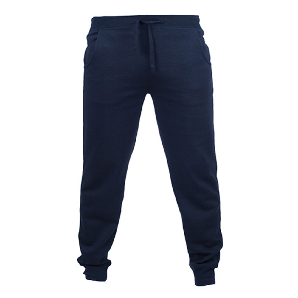 Pantalon de jogging slim à revers pour hommes