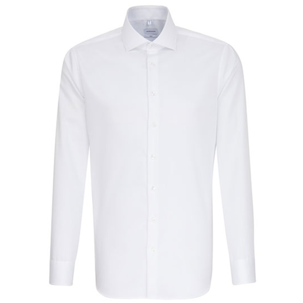 Men`s Shirt Slim Fit Twill Longsleeve