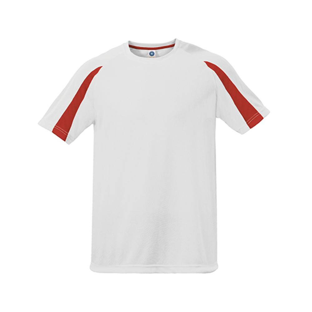 Maglietta sportiva unisex a contrasto