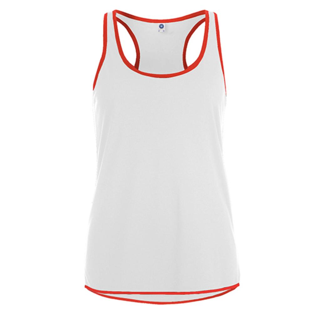 Women`s Contrast Sports Vest