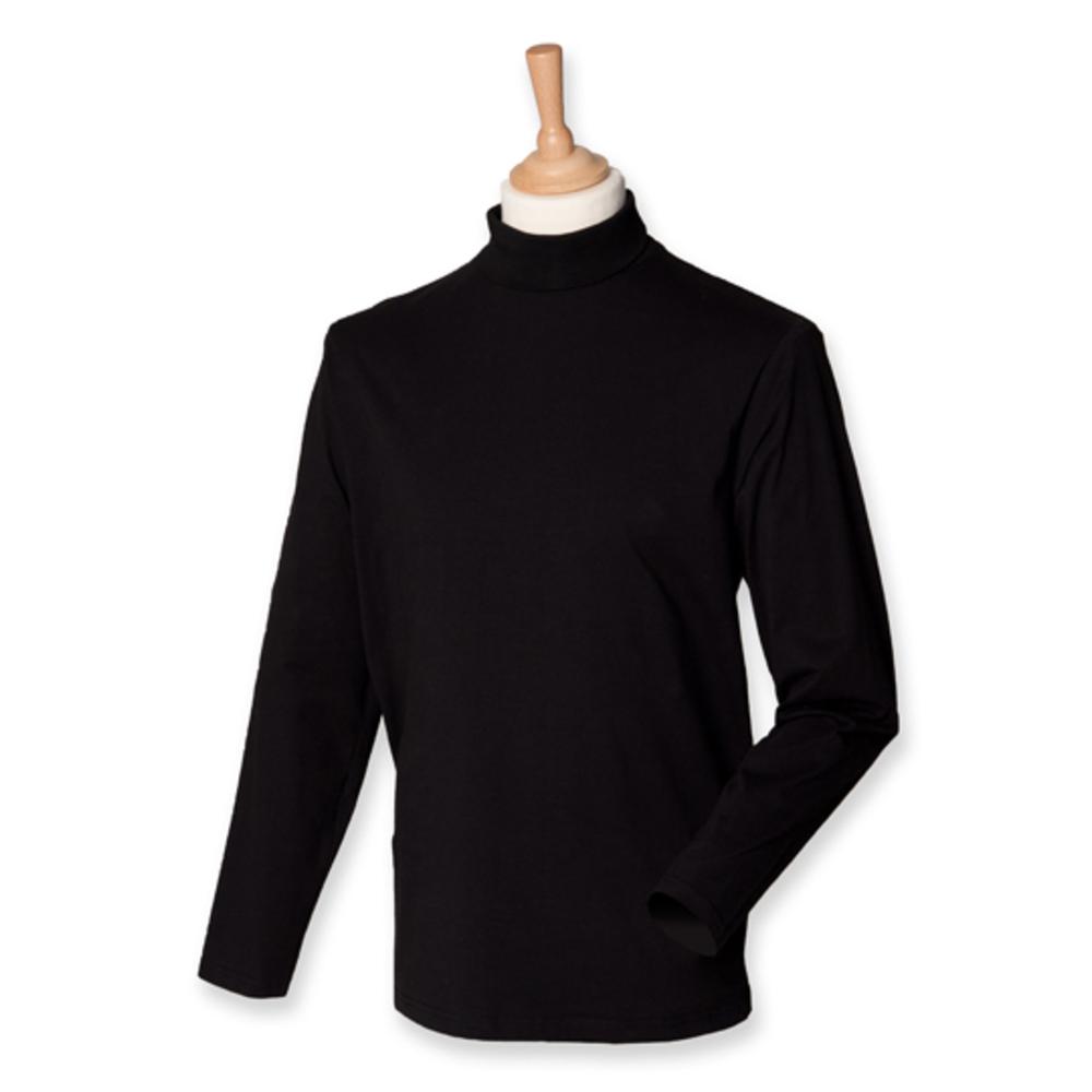Roll-Neck Long-Sleeve T-Shirt