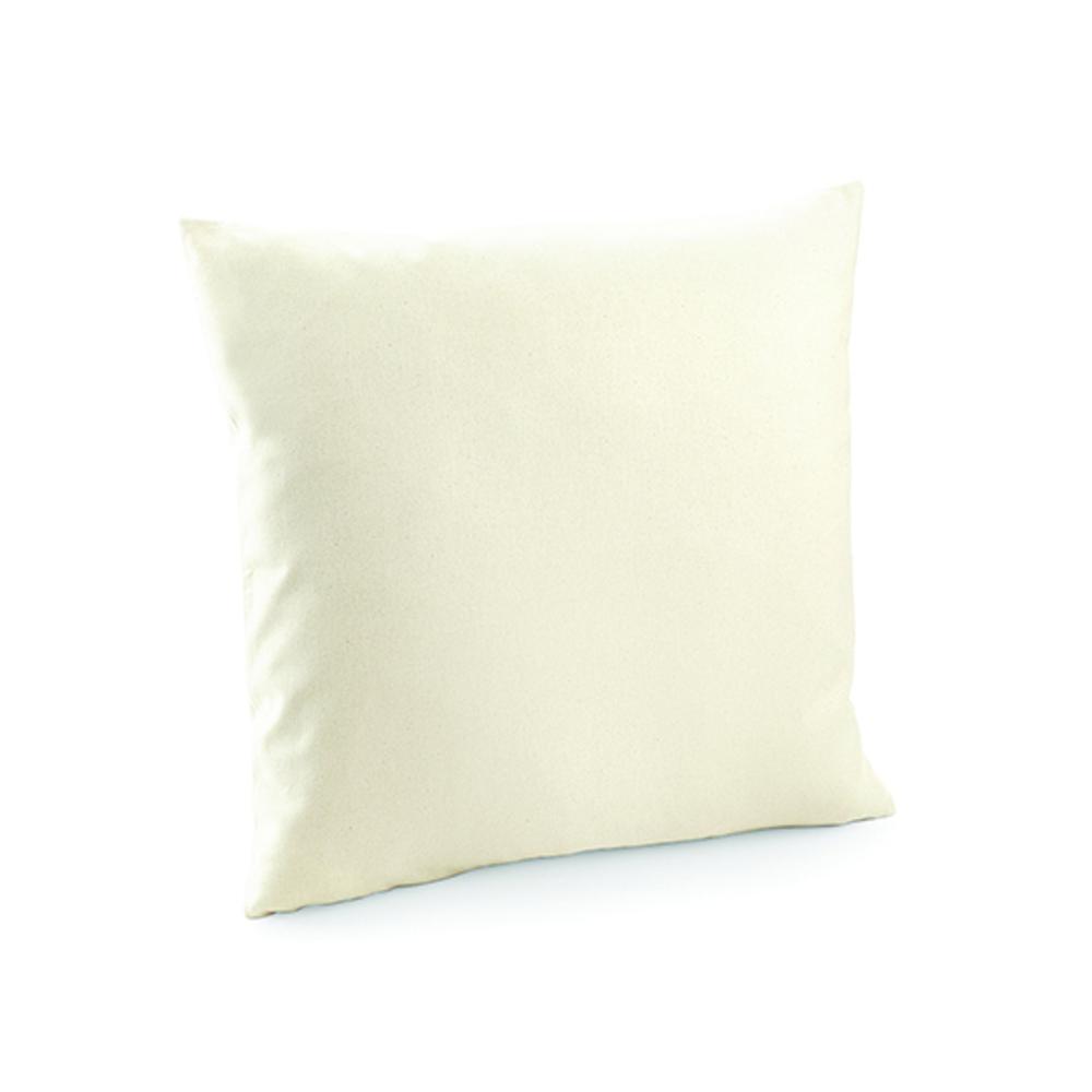 Fairtrade Cotton Canvas Cushion Cover