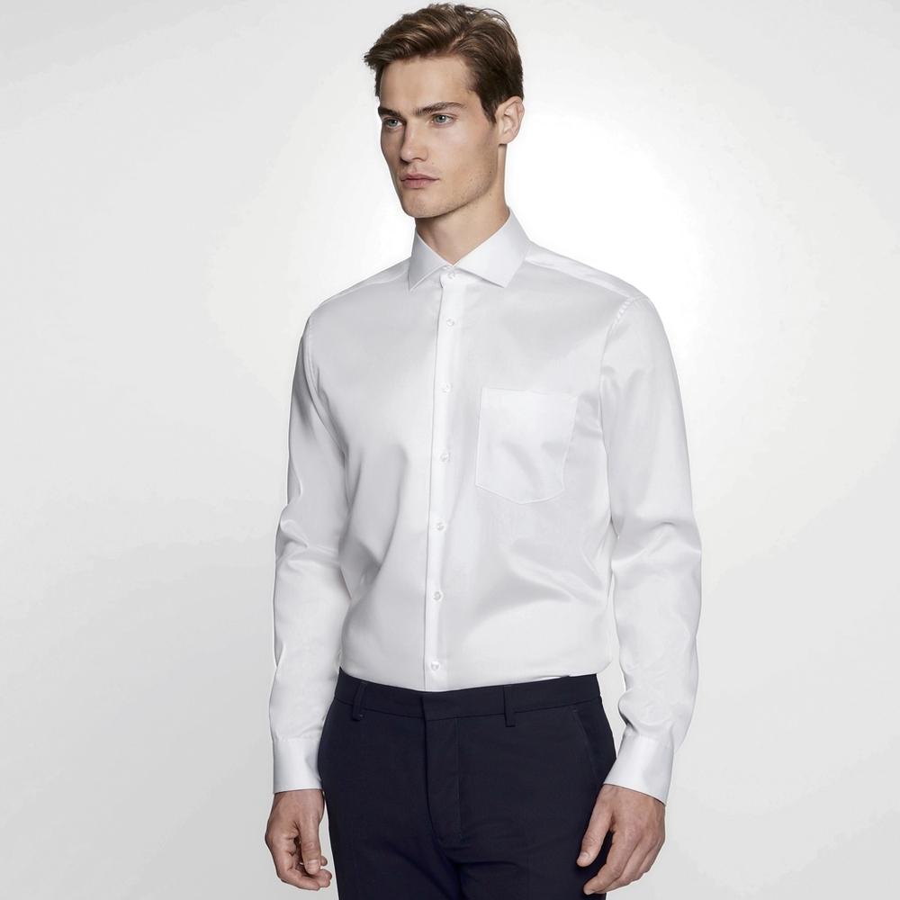 Men`s Shirt Regular Fit Twill Longsleeve