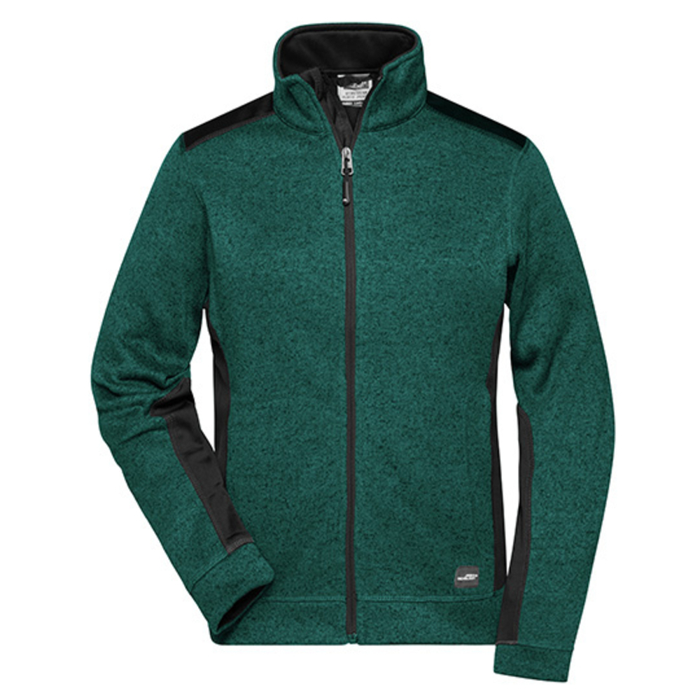 Ladies' Knitted Workwear Fleece Jacket -STRONG-