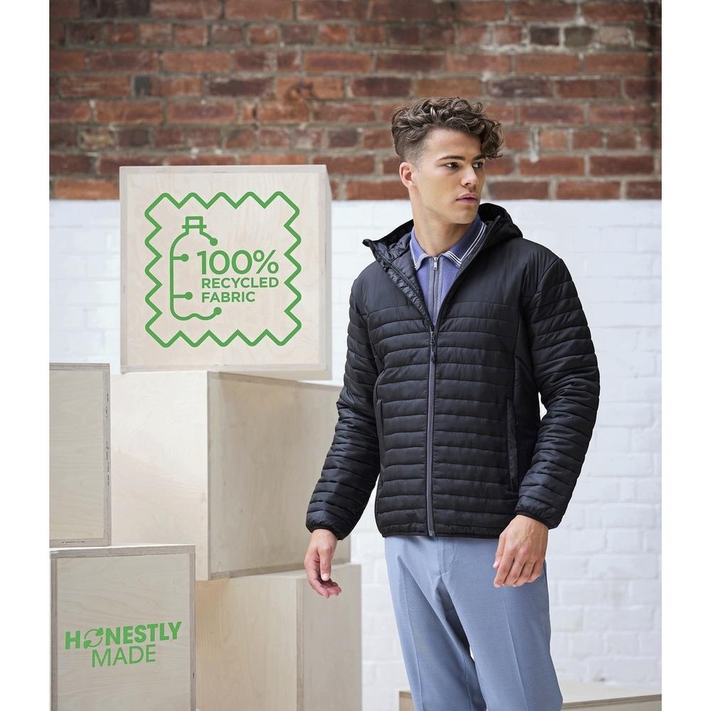 Chaqueta térmica Ecodown reciclada hecha con honestidad